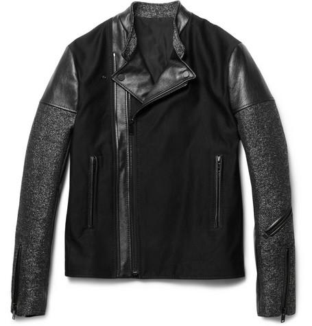 la meilleure attitude 9f1e5 217a3 balenciaga perfecto slim-fit leather biker jacket